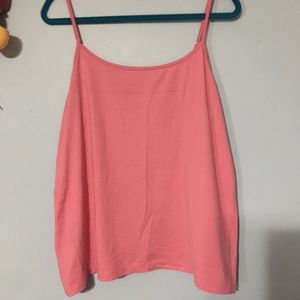 Lane Bryant Light Coral Pinky Color Cami 18/20